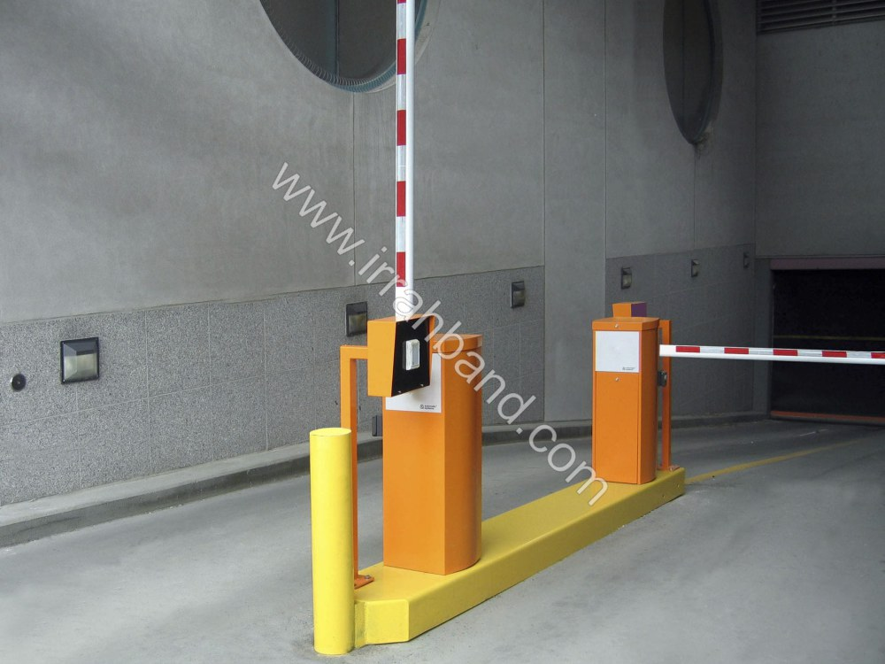 Access control barrier / boom / metal / automatic