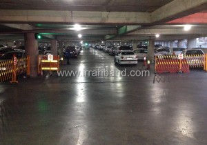 راهبند آکاردئونی پارکینگ فرودگاه مهرآباد